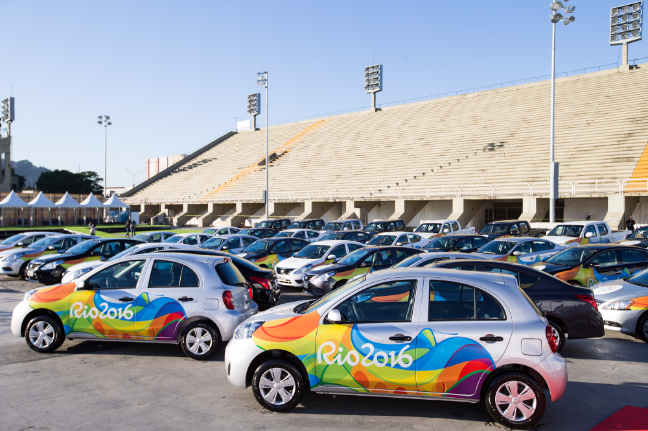 Cars of Rio Olympic